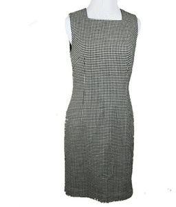 ANN TAYLOR BLACK & WHITE DRESS SIZE 4P
